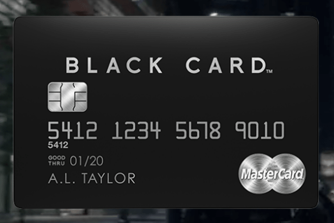 MasterCard Black Card credit card