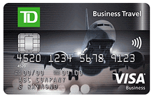 TD Business Travel Visa - top credit cards in canada