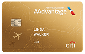 Citi® / AAdvantage® Gold World Elite™ MasterCard® - best citibank credit card