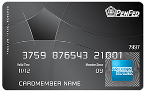 PenFed Premium Travel Rewards American Express® Card - credit cards for military