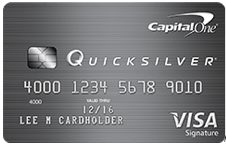 Capital One® Quicksilver® - credit card bonus