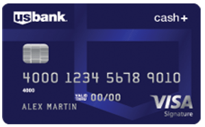 U.S. Bank Cash+™ Visa Signature® Card - best signup bonus credit card