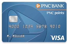 PNC points® Visa® Credit Card - top ten credit cards