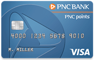 PNC Points® Visa® Credit Card Review- high limit credit cards for good credit