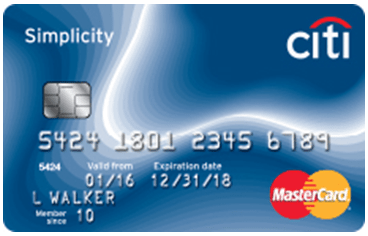 Citi Simplicity® Card - credit cards for good credit
