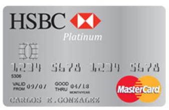 hsbc platinum credit card