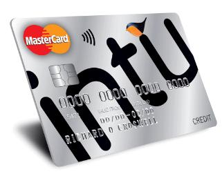 MBNA intu Credit Card - top uk credit cards
