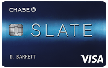 Chase Slate® Credit Card - credit cards for average credit