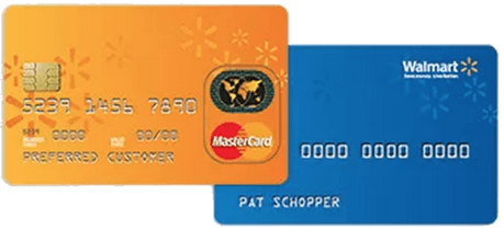 Walmart - retail credit card for bad credit