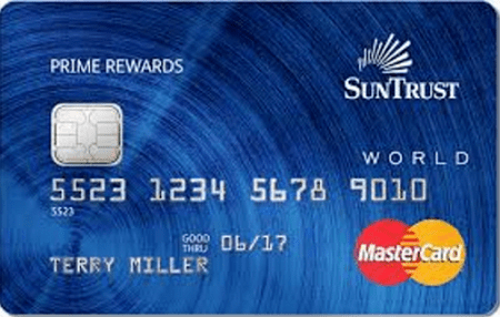 SunTrust Prime Rewards Credit Card - suntrust bank credit card