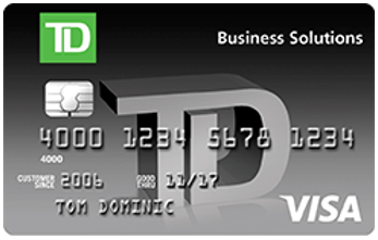td bank business credit card