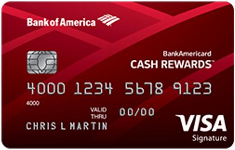 BankAmericard Cash Rewards™ Credit Card - visa credit card offers