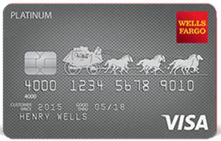 wells fargo platinum credit card