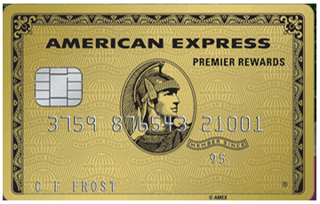 Premier Rewards Gold Card from American Express - charge credit card