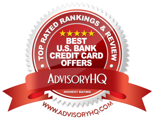 Best U.S. Bank Credit Card Offers Red Award Emblem