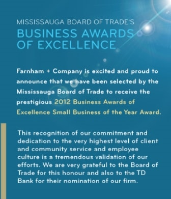 Farnham + Company - accountants in mississauga