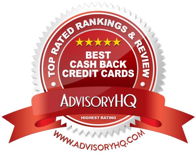 Best Cash Back Credit Cards Red Award Emblem