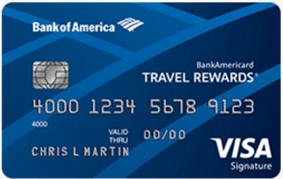Bank of America best credit card rewards