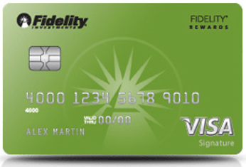 Fidelity credit cards with best rewards