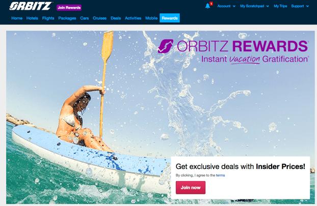 best travel booking sites Orbitz
