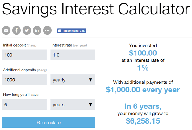 best high interest savings account