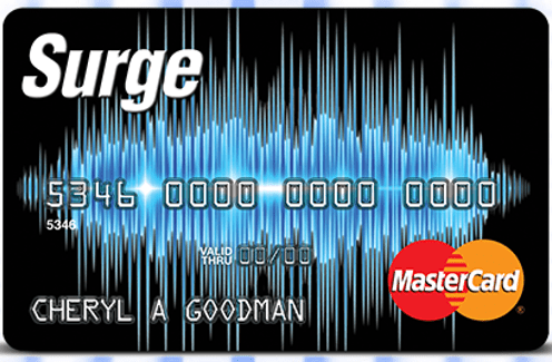 Surge Master Card instant approval credit cards