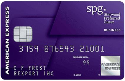 starwood credit card