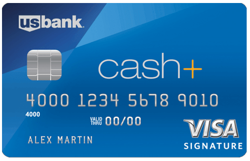 U.S. Bank Cash+™ Visa Signature® Card - us bank rewards card