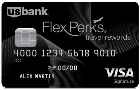 U.S. Bank FlexPerks® Travel Rewards Visa Signature® - us bank travel card