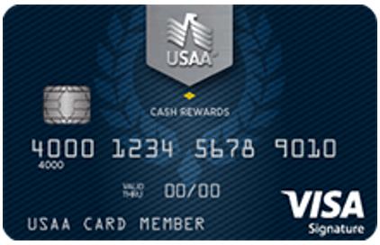Cash Rewards Visa Signature® Card - usaa credit card