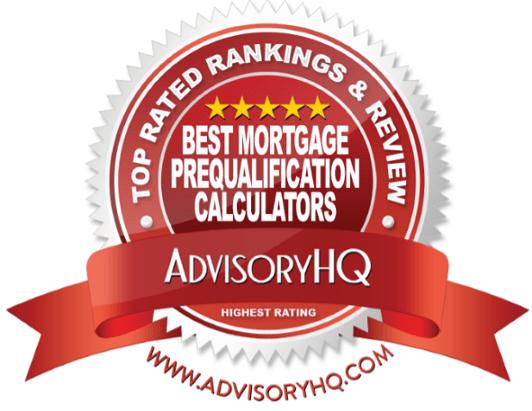 Best Mortgage Prequalification Calculators Red Award Emblem