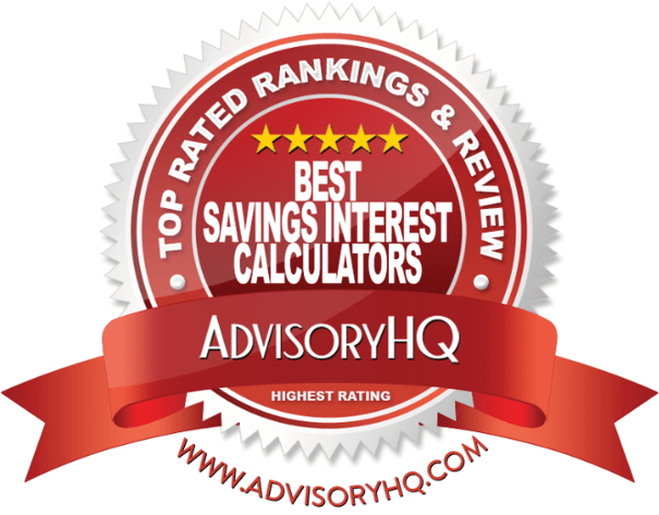 Top 6 Best Savings Interest Calculators | 2017 Ranking | Savings ...