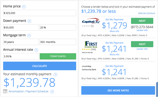 Monthly Loan Payment Calculator