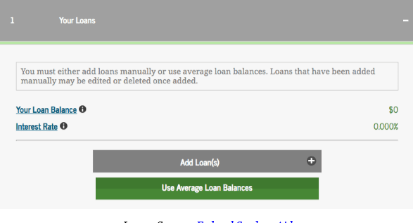 Student Loan Payoff Calculator