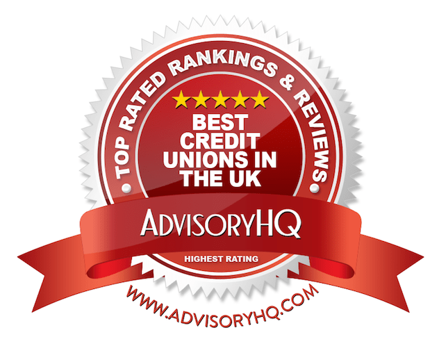 Best Credit Unions in the UK Red Award Emblem