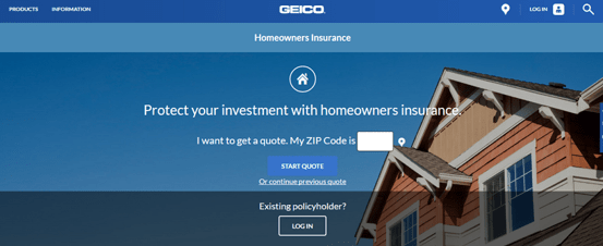 Affordable Homeowners Insurance by Geico
