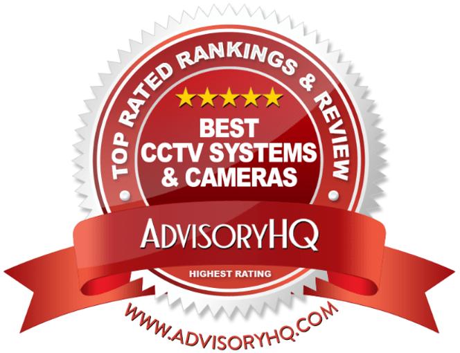 Best CCTV Systems & Cameras Red Award Emblem