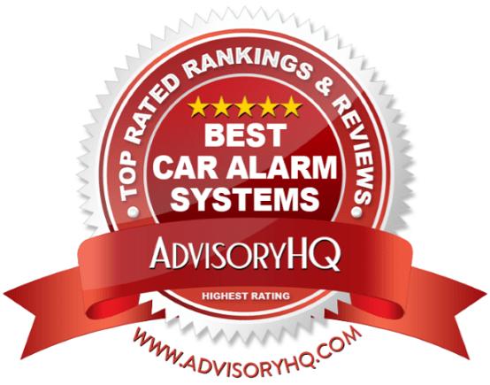 Best Car Alarm Systems Red Award Emblem
