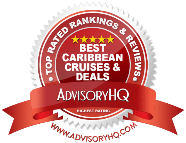 Best Caribbean Cruises & Deals Red Award Emblem