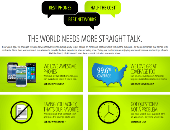 Straight Talk Wireless - wireless phone companies