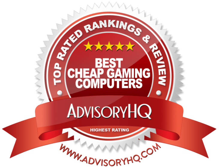 Best Cheap Gaming Computers Red Award Emblem