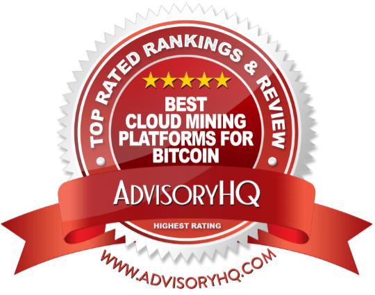 Best Cloud Mining Platforms for Bitcoin Red Award Emblem