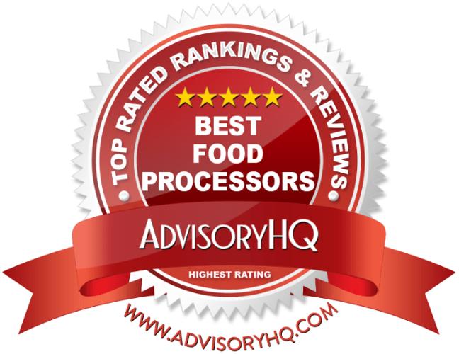 Best Food Processors Red Award Emblem