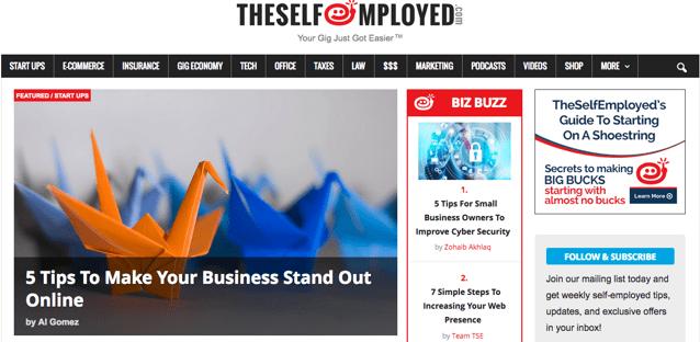 Best Self-Employed Jobs