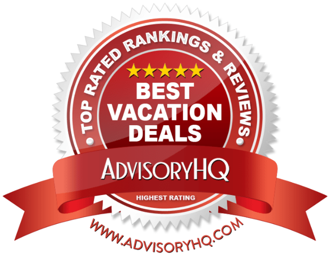 Best Vacation Deals Red Award Emblem