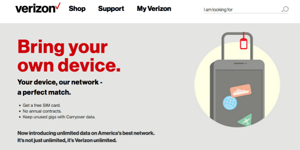 Verizon Wireless - top cell phone companies
