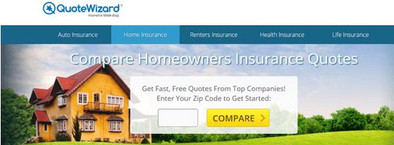 Cheap Home Insurance Companies QuoteWizard