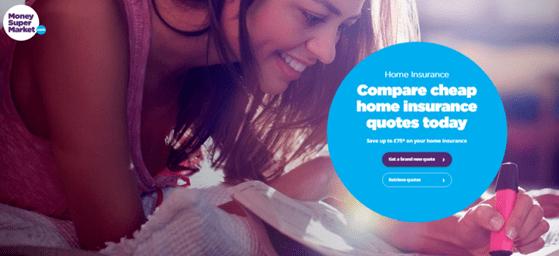 Cheap Homeowners Insurance by Moneysupermarket