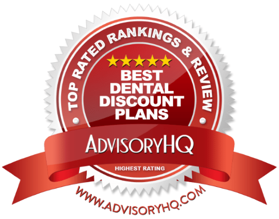 Best Dental Discount Plans Red Award Emblem