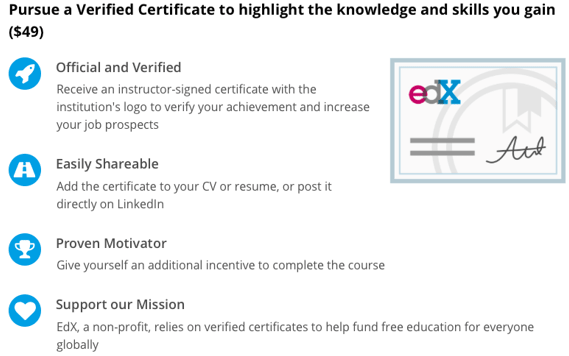 EdX's Analyzing and Visualizing Data in Excel - free online certificate courses